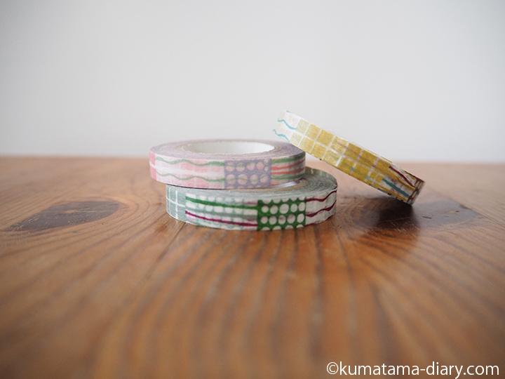 細いマスキングテープ