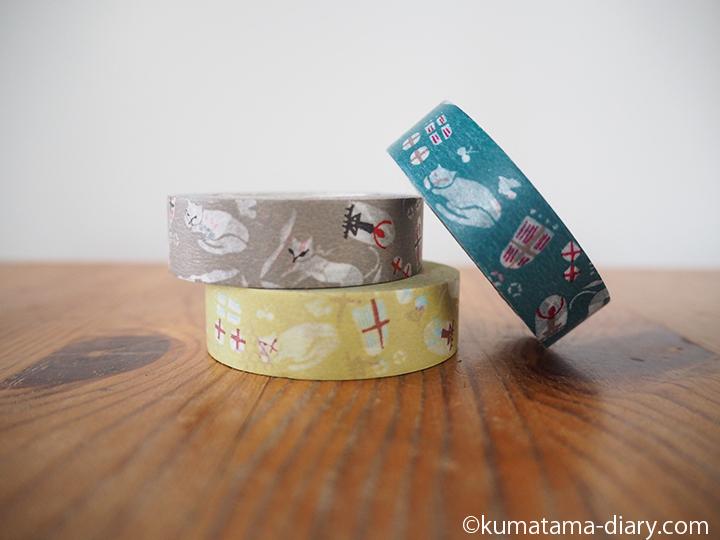 猫屋敷マスキングテープ