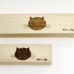桐製の猫専用「猫のひげケース」