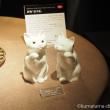 ノリタケの招き猫
