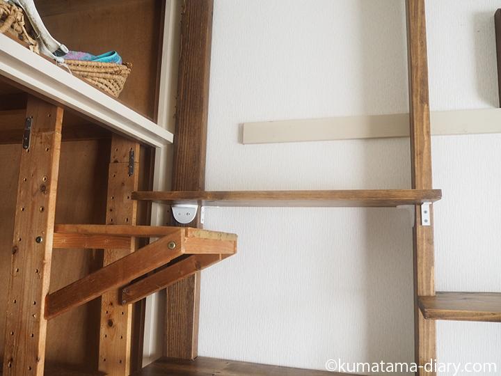 キャットウォークの棚板