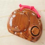 猫の形がかわいい陶器製の湯たんぽ「ねこぽん」