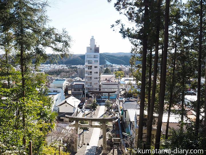 住吉神社からの眺め
