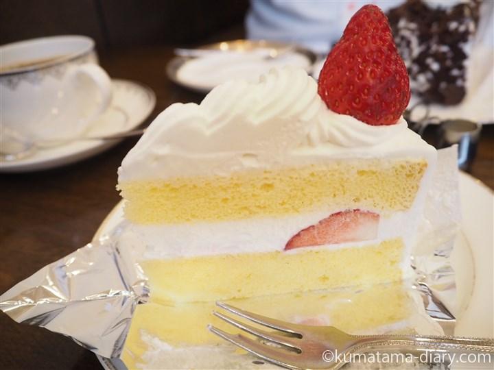 カフェバッハのケーキ