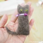 東急にゃんずの「猫毛フェルトの指人形」を作るワークショップに参加しました