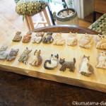 はしもとみおさんの「猫ブローチ」を作る彫刻ワークショップに参加しました