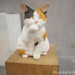 「Shinjuku 20 factories」でバンナイリョウジさんの木彫り猫を見ました