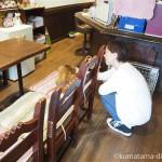 【根津】看板猫がいる喫茶店「ル・プリーべ」でサビ猫さんと戯れました