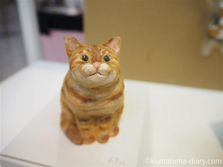 バンナイさんの木彫り猫