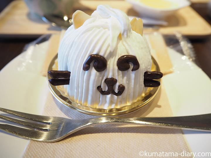 白猫のレアチーズケーキ