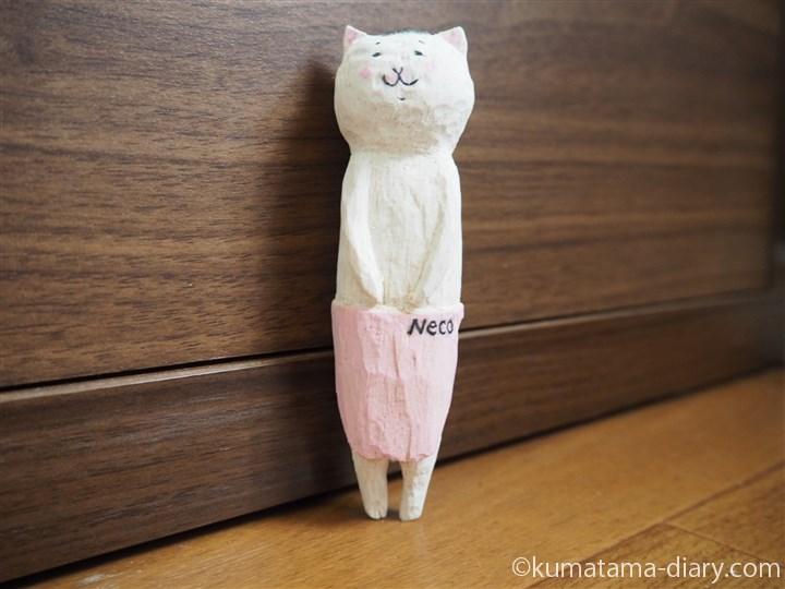 木彫りの猫村さん