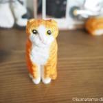 木彫り猫のスコティッシュフォールドを作りました