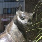 【阿佐ヶ谷】「art gallery OPPO(アートギャラリーオッポ)」の2匹の猫の像