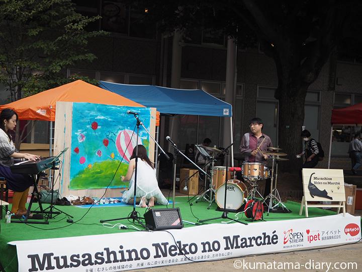 セイノユカさんのライブペインティング