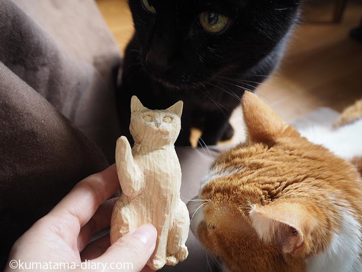 くまたまと招き猫