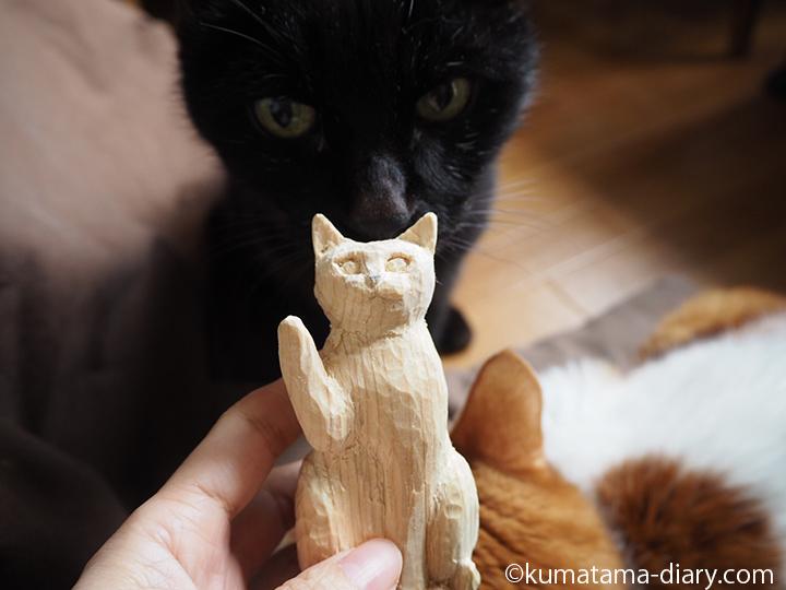 くまと招き猫