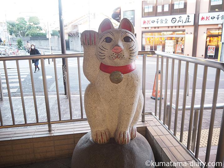 豪徳寺駅の招き猫