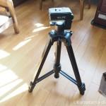 猫の動画撮影にも使えるSLIKの3段三脚「GX 6300」を彼が買いました