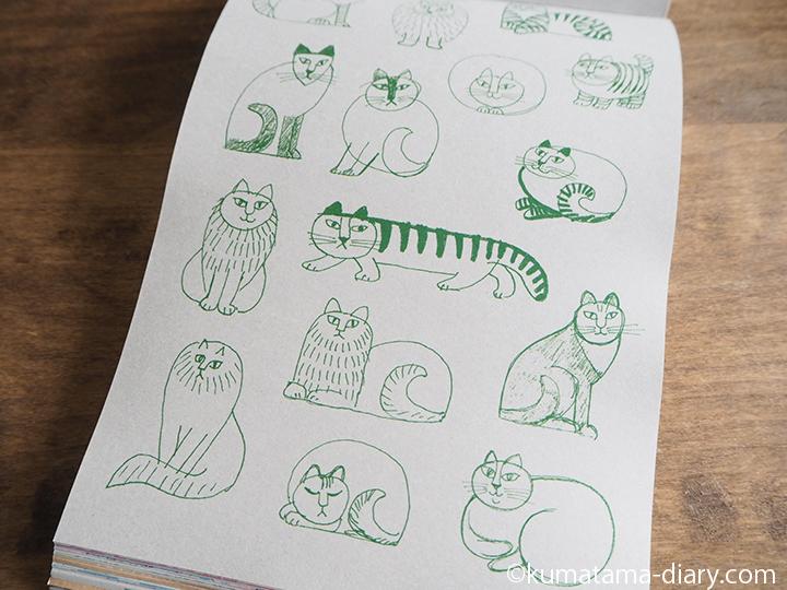 猫のスケッチ