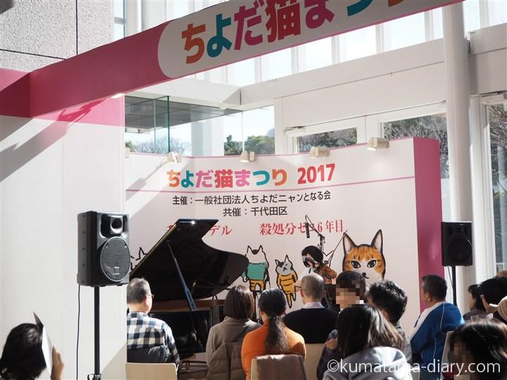 ヴァイオリンとオペラと猫のコンサート