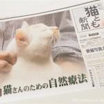 『月刊猫とも新聞』2017年3月号の特集は「猫さんのための自然療法」です