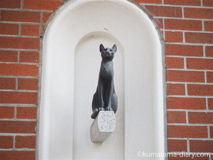大佛次郎記念館猫の像