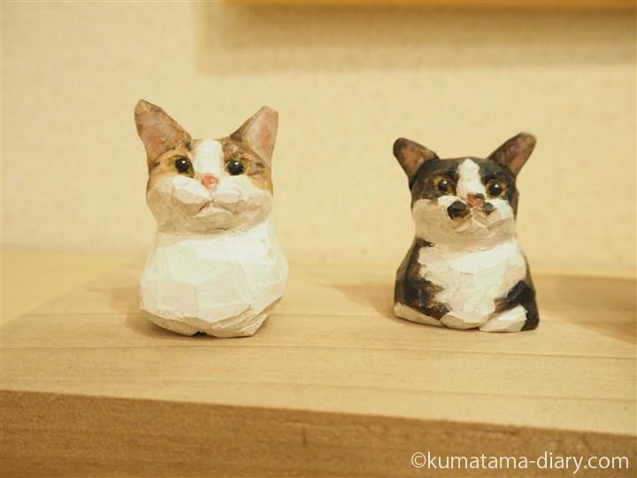 バンナイさんの猫ブローチ