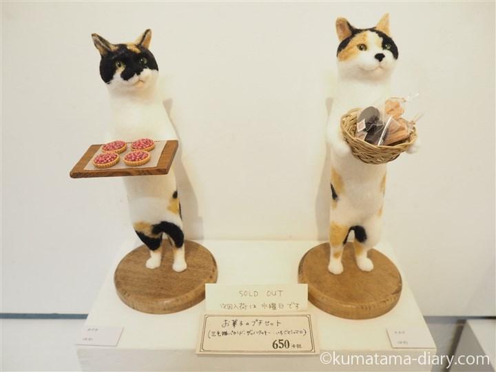 寅印菓子屋さんの猫さんたち