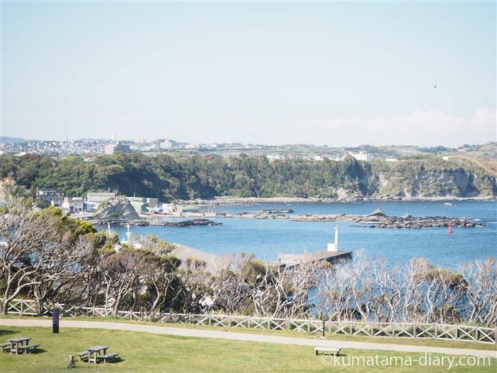 城ヶ島公園からの眺め