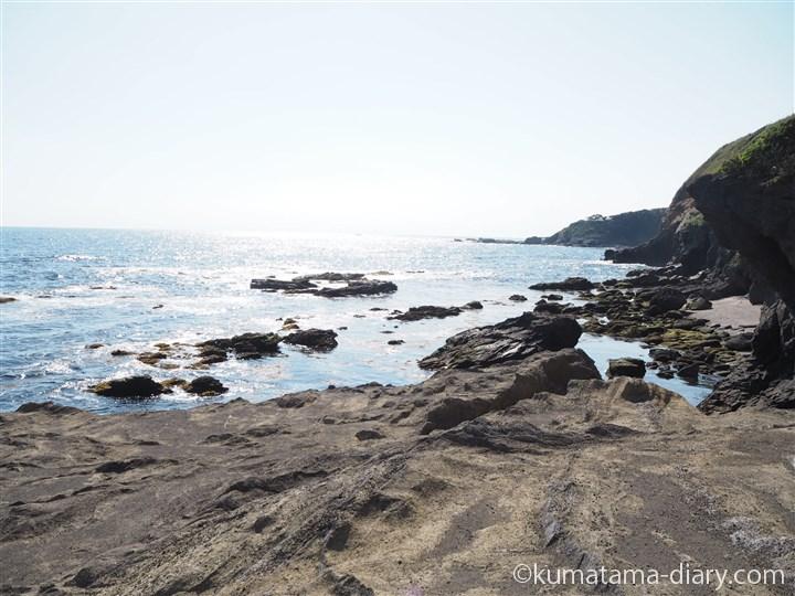 城ヶ島公園の岩礁