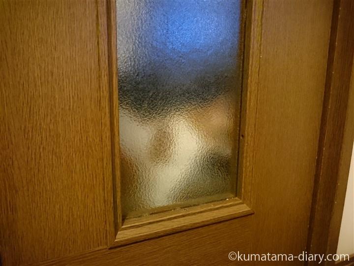 ドアの外のたまき