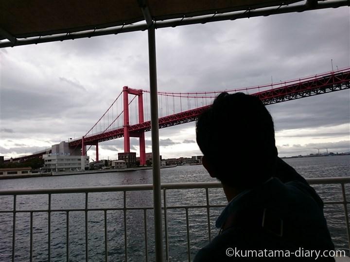 若戸大橋と彼