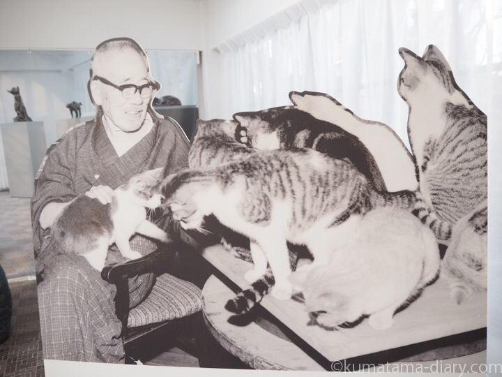 朝倉文夫と猫