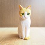 お風呂のたまきと木彫り猫