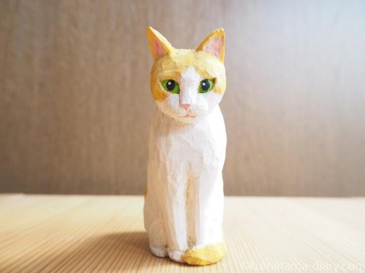 木彫り猫たまき