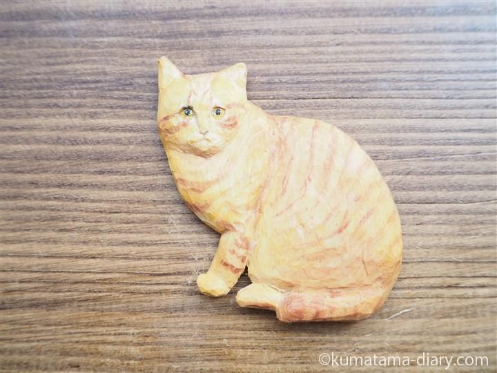 茶トラ猫さんマグネット