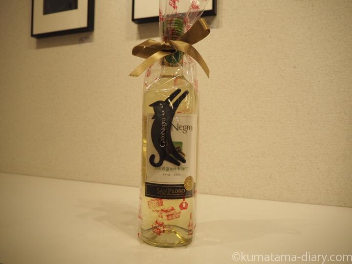 猫ラベルのワイン