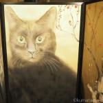 ホテル雅叙園東京で「猫都(ニャンと)の国宝展 at 百段階段 ~猫の都の国宝アート~」を見ました