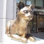 日本橋三越本店「ねこ・猫・ネコまつり」期間限定のネコ像を見に行きました