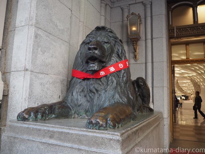 三越本店ライオン