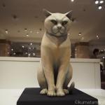 日本橋三越本店で「田島享央己木彫展 -花も嵐もお彫刻-」を見ました