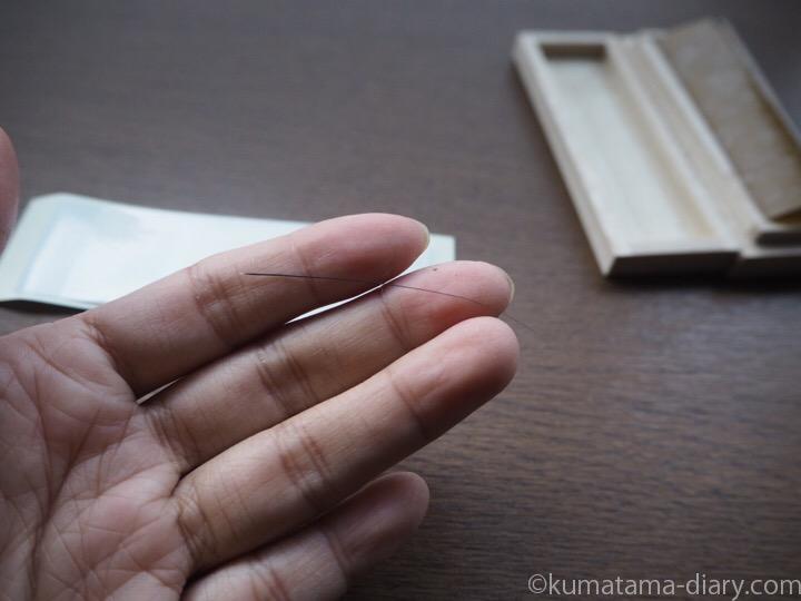 猫専用桐製猫のひげケース