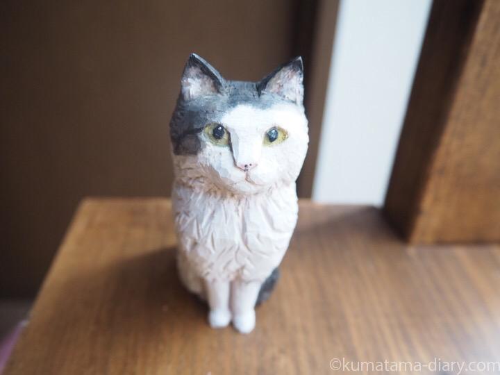 チャッピーくん木彫り猫