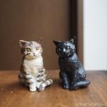 リアルな猫のフィギュア「はしもとみお 猫の彫刻」をゲットしました