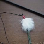 釣り竿タイプの猫じゃらし「クレイジーゾーン」の交換用の羽を買いました
