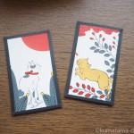 【谷中ギャラリー猫町】元祖ふとねこ堂個展「おみやげおやつねこ」と花猫札