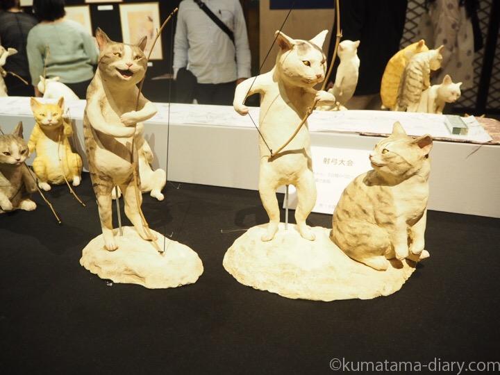 猫の鳥獣戯画「3D猫国戯画」