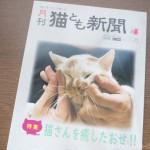 『月刊猫とも新聞』2019年6月号の特集は「猫さんを癒したおせ!!」です