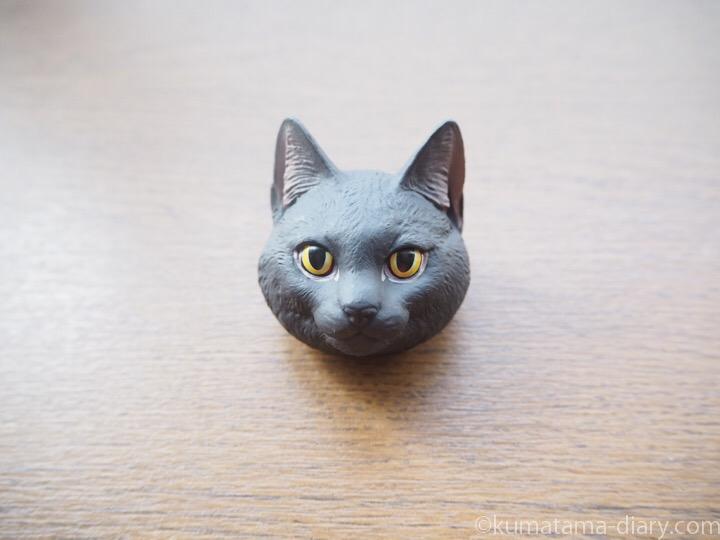 ネコバッジ黒猫