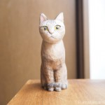キジトラ猫さんの木彫り猫のご感想